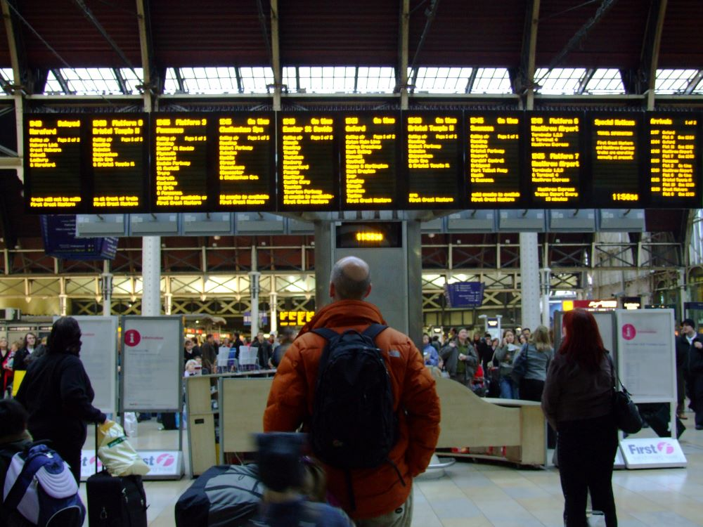 get refunds if your train has been delayed
