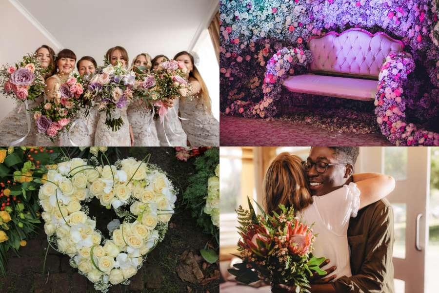 Florist collage