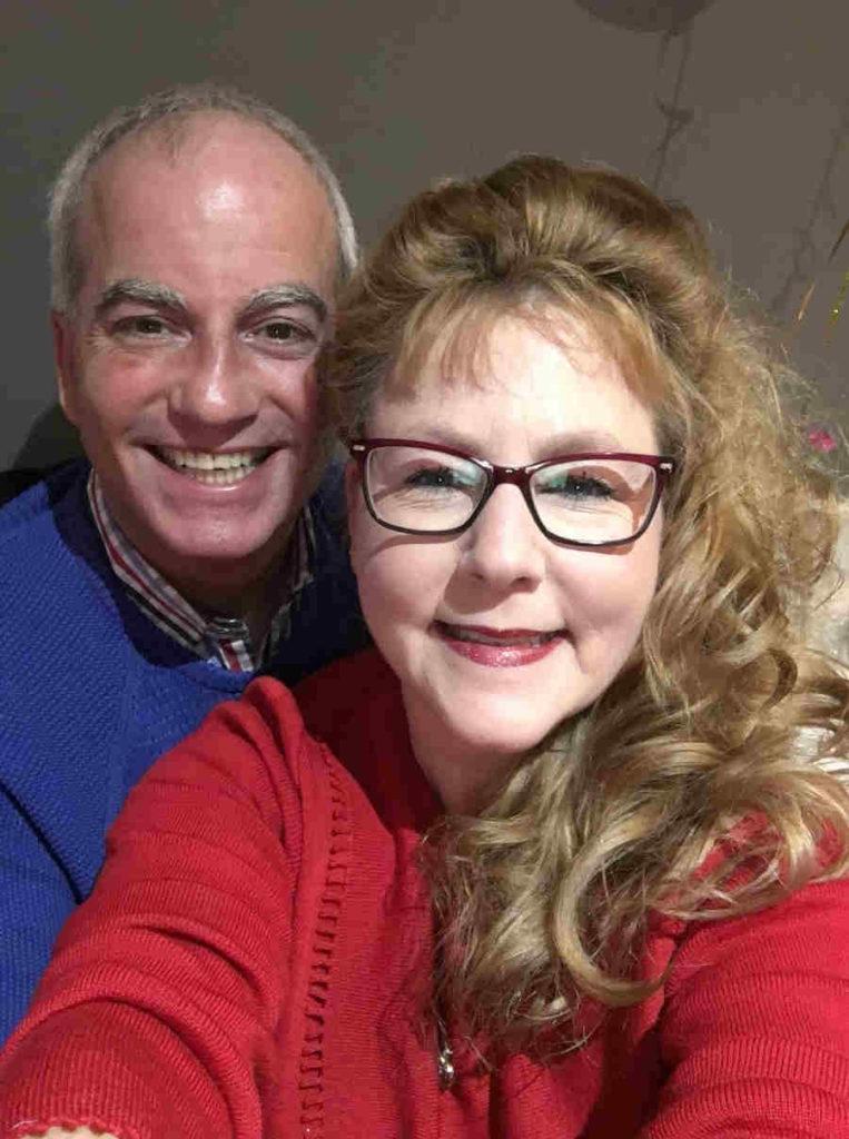David Prest and wife selfie