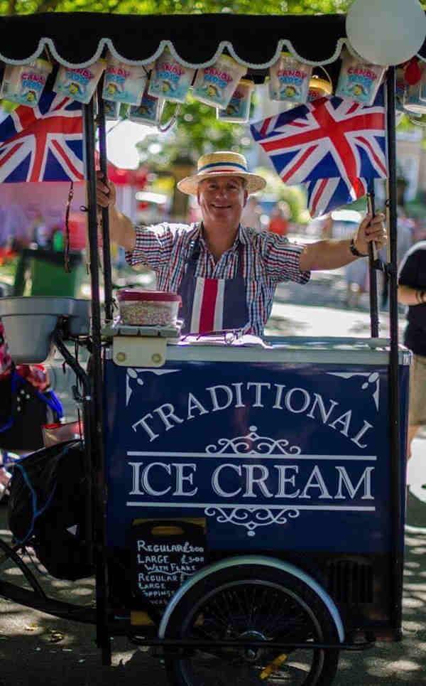 David Prest vintage ice cream experience