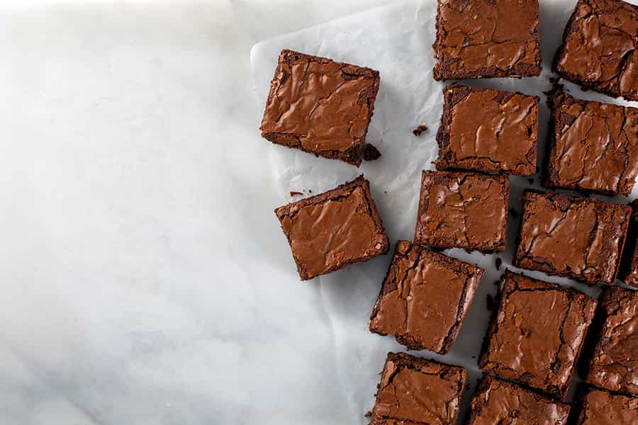 Ultimate gooey brownies