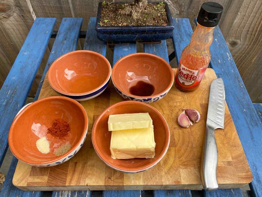 buffalo sauce chicken wings ingredients