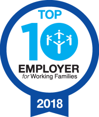 Top 10 Employer of Working Families 2018
