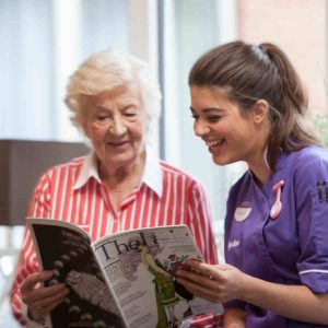 signature care homes activities assistant